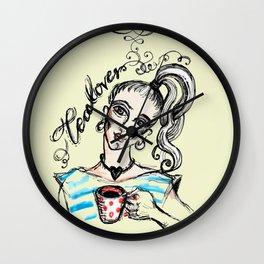 Tealover - 2 Wall Clock
