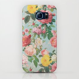 Floral B iPhone Case