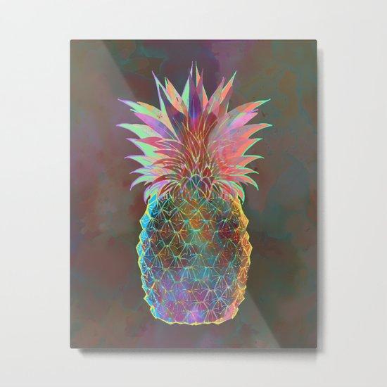 Pineapple Express Metal Print