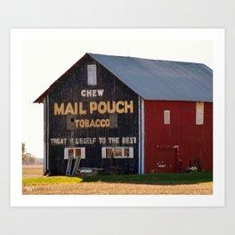 Mail Puch Barn Art Print