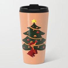 Christmas Spirit Metal Travel Mug