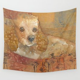 The Cozy Cocker Wall Tapestry