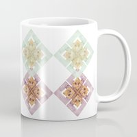 clover Mugs featuring Clover by Wood + Ink