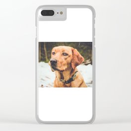 Penny 2 Clear iPhone Case