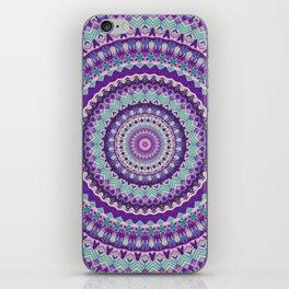 Iris Passion Mandala iPhone Skin