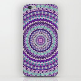 Iris Passion Mandala iPhone Skin