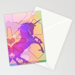 PLANET UNICORN Stationery Cards