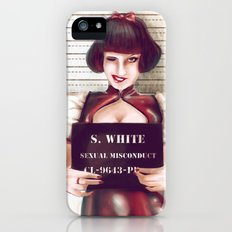 Snow white Slim Case iPhone (5, 5s)