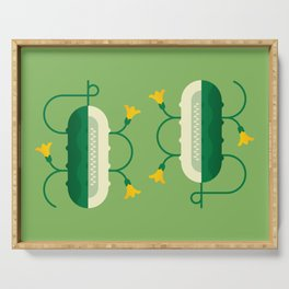 Vegetable: Cucumber Serving Tray