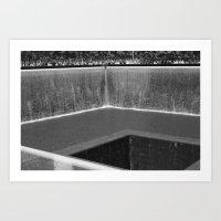 WTC Memorial 1/2/World trade Center Art Print