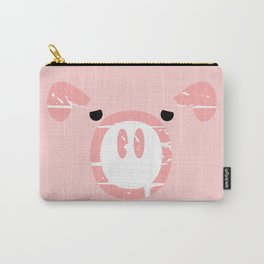 Cute Pink Pig face Carry-All Pouch