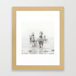 Ghost Riders - Horse Art Framed Art Print