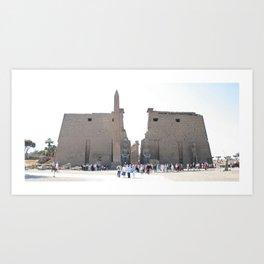 Temple of Luxor, no. 10 Art Print