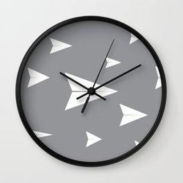 Legend of 1000 Paper Planes Wall Clock