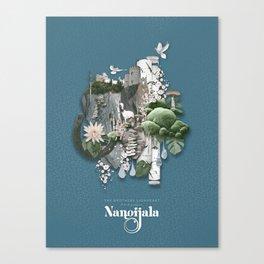 Nangijala –Blue Canvas Print