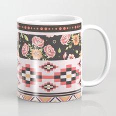 Floral Aztec Tribals Mug