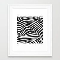 wave Framed Art Prints featuring Wave by Tracie Andrews