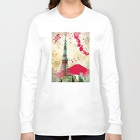 tokyo Long Sleeve T-shirts featuring Tokyo by Kimball Gray