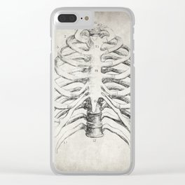 Rib Cage Clear iPhone Case