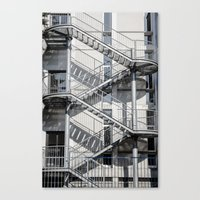 school Canvas Prints featuring school by Diogo Andrade