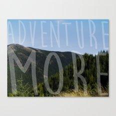 Adventure More Canvas Print