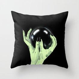 Crystallomancy Throw Pillow