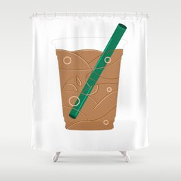 Frappuccino Shower Curtain