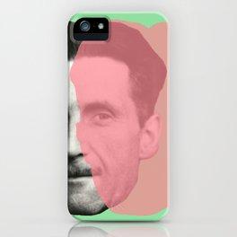 George Orwell iPhone Case
