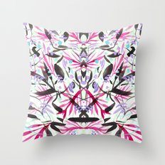 Berry Exotic Jungle #2 Throw Pillow