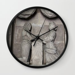 Monument To William Wentworth And His Wife Henrietta Wall Clock