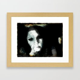 Autobiography: Chapter 3_Tom Paint Rustic Framed Art Print