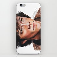 sam winchester iPhone & iPod Skins featuring Jared Padalecki/Sam Winchester by Londonhazz