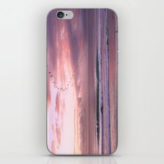 Magenta Sky iPhone Skin