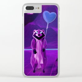 I need Love not Likes Clear iPhone Case