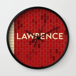 LAWRENCE | Subway Station Wall Clock