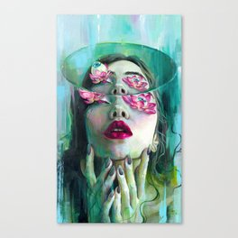 Refraction of the Spotless Mind Canvas Print