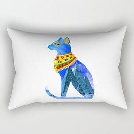 Egypt Cat Rectangular Pillow