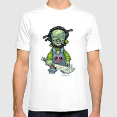 Z gang - Mr. Octopux - Villains of G universe White Mens Fitted Tee SMALL