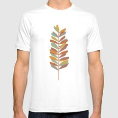 Branch 2 Mens Fitted Tee White MEDIUM