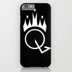 Q is for Queen (black) Slim Case iPhone 6s