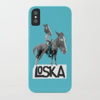 warrior iPhone & iPod Cases featuring Warrior by LOSKA