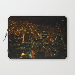 Looking Down on Downtown #1 (Chicago Architecture Collection) Laptop Sleeve