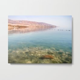 Bright Day at the Dead Sea Metal Print