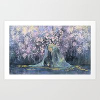 March - Forest of the flower - Art Print