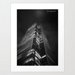 Gotham (K)NIGHT Art Print