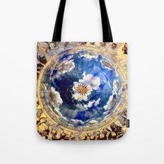 Compass Rose Globe Tote Bag
