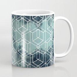 Blue in a corner Coffee Mug