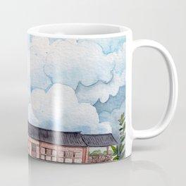 Clouds watercolor illustration Coffee Mug