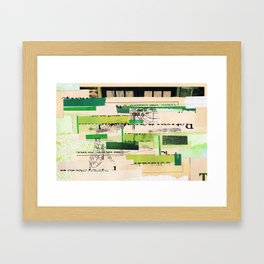 Poorly Constructed Framed Art Print