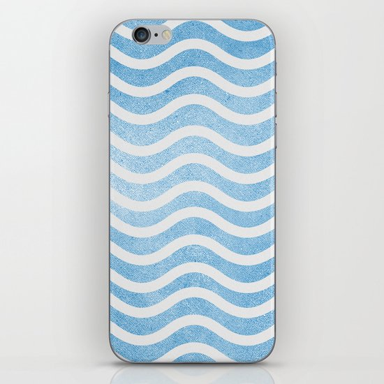 Waves. iPhone & iPod Skin